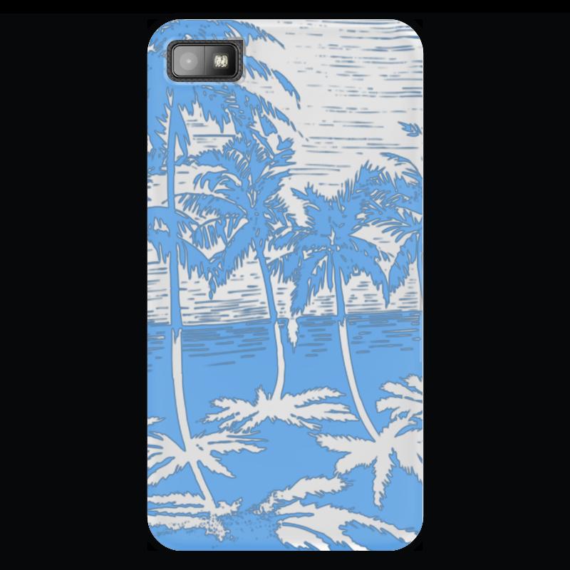 Чехол для Blackberry Z10 Printio Пальмы купить горшок для пальмы большой