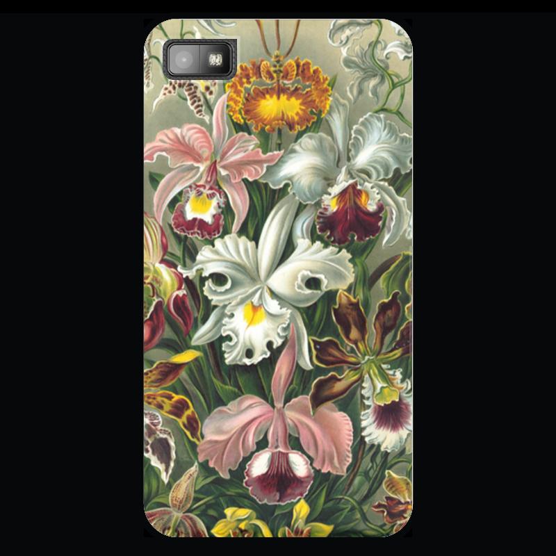 Чехол для Blackberry Z10 Printio Орхидеи (orchideae, ernst haeckel) самые дешевые орхидеи в москве