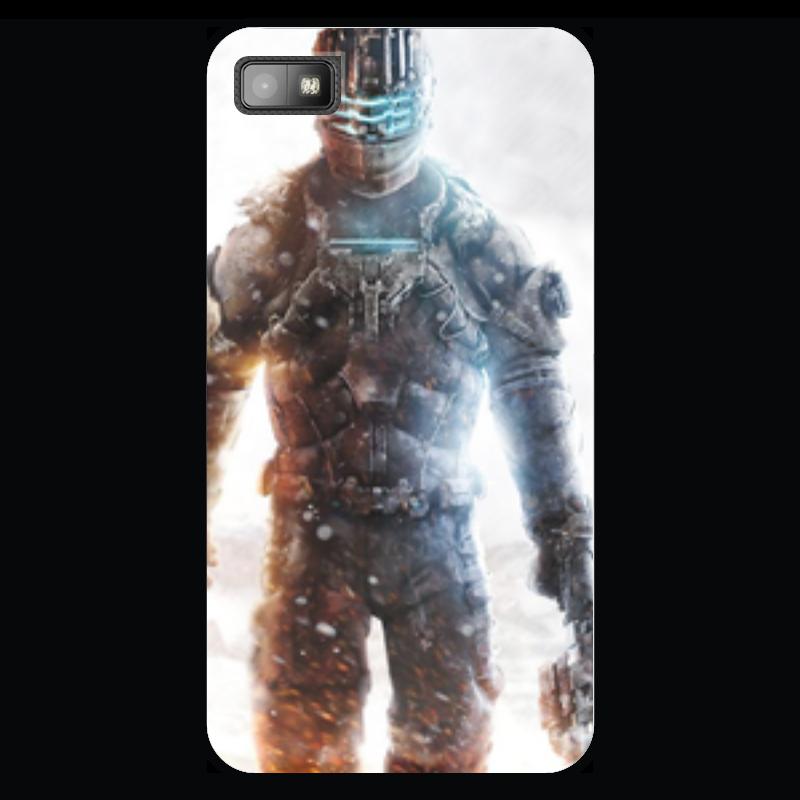 Чехол для Blackberry Z10 Printio Dead space 3 как костюмы в dead space 3