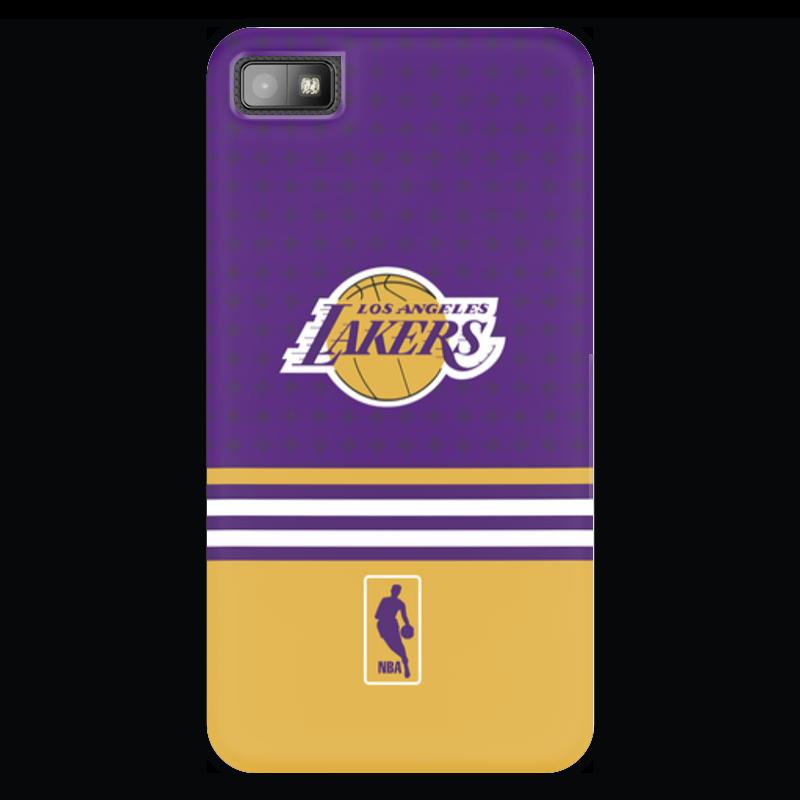 Чехол для Blackberry Z10 Printio Lakers case pro баскетбольную форму lakers