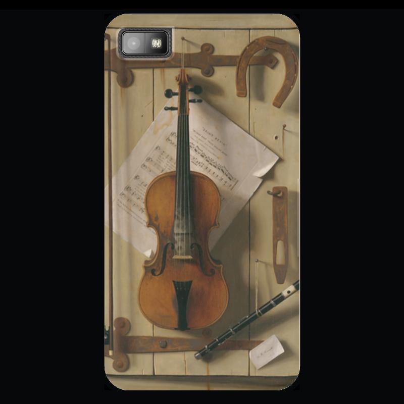 Чехол для Blackberry Z10 Printio Натюрморт со скрипкой (уильям харнетт) уильям пол янг ева