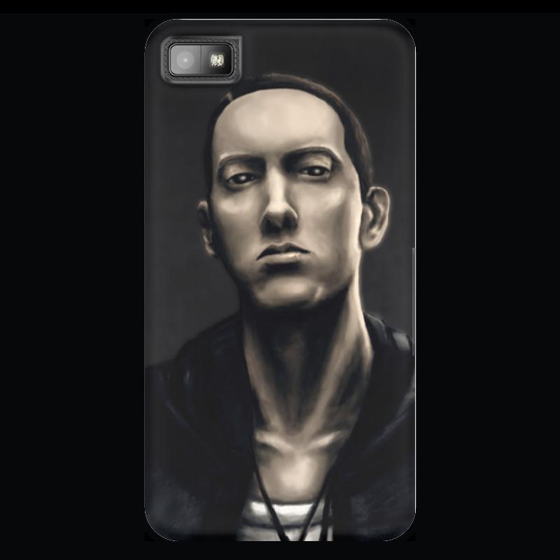 Чехол для Blackberry Z10 Printio Eminem art чехол для blackberry z10 printio собачки