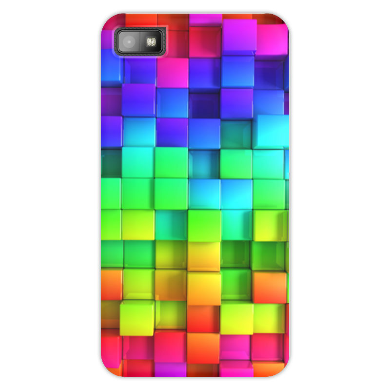 Чехол для Blackberry Z10 Printio Яркие краски чехол для blackberry z10 printio сад земных наслаждений