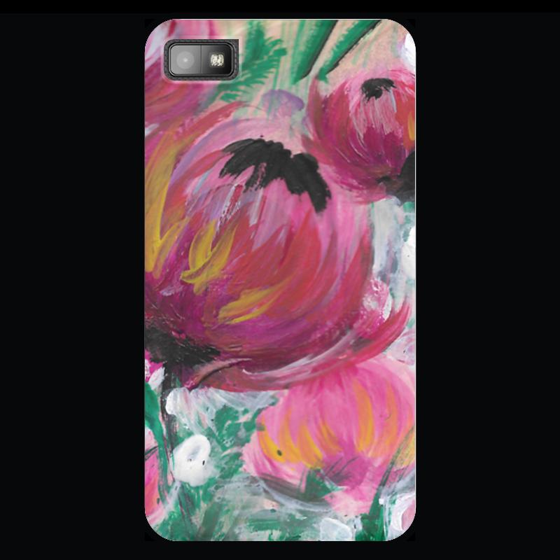 Чехол для Blackberry Z10 Printio Полевые цветы st баллон для автоматического освежителя воздуха полевые цветы 39 мл