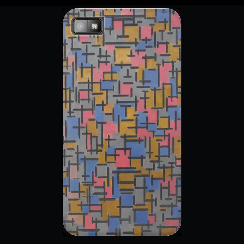 Чехол для Blackberry Z10 Printio Композиция (питер мондриан) чехол для карточек пит мондриан дк2017 110
