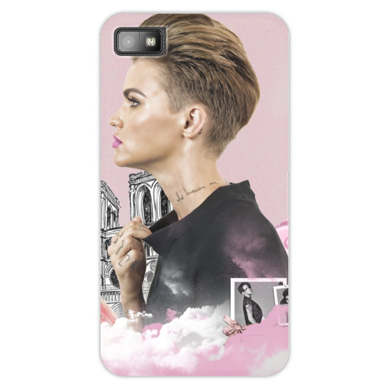 Чехол для Blackberry Z10 Printio Ruby rose blackberry z10