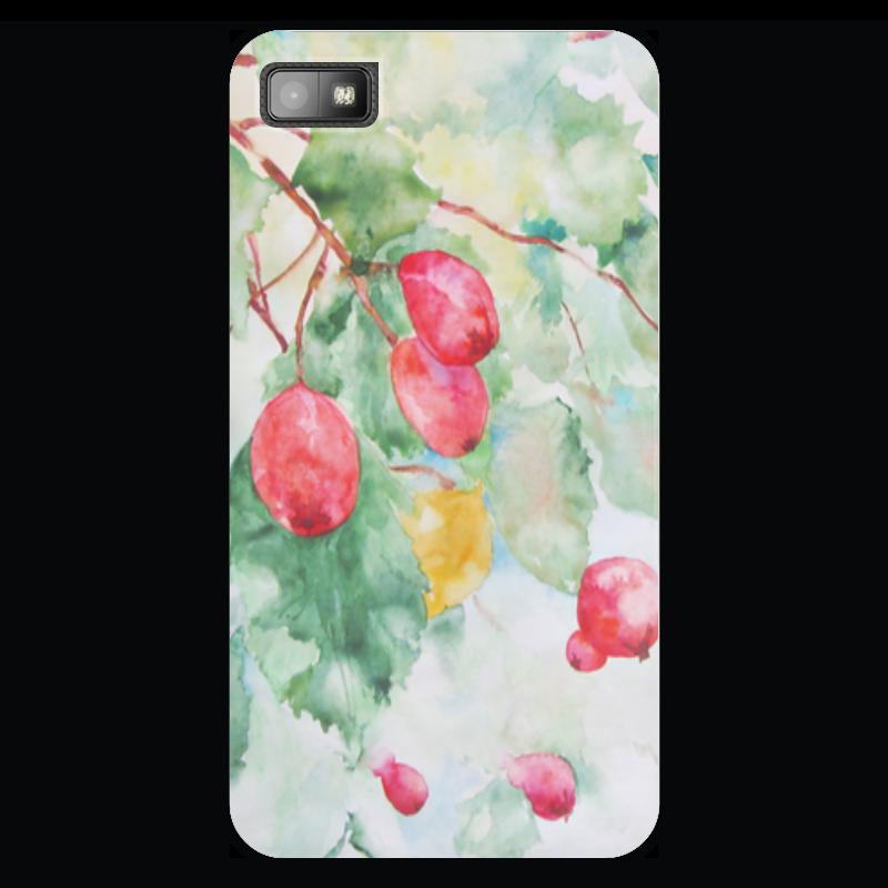 Чехол для Blackberry Z10 Printio Боярышник и осень светодиодная картина пора чудес