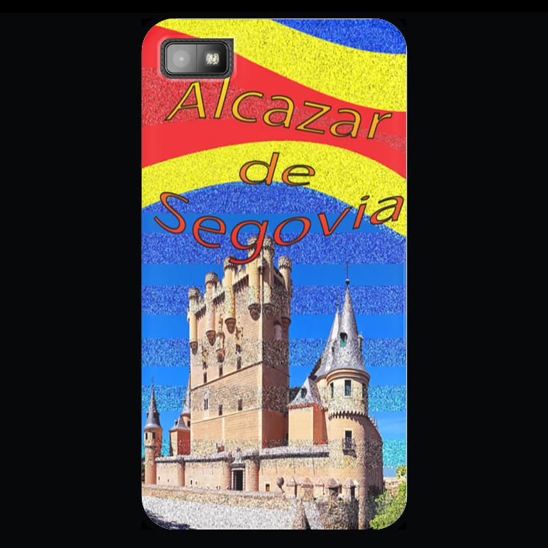 Чехол для Blackberry Z10 Printio Замки испании. замок сеговия. deroace велосипедный цепной стальной замок для электрокара электро мотороллера мотора