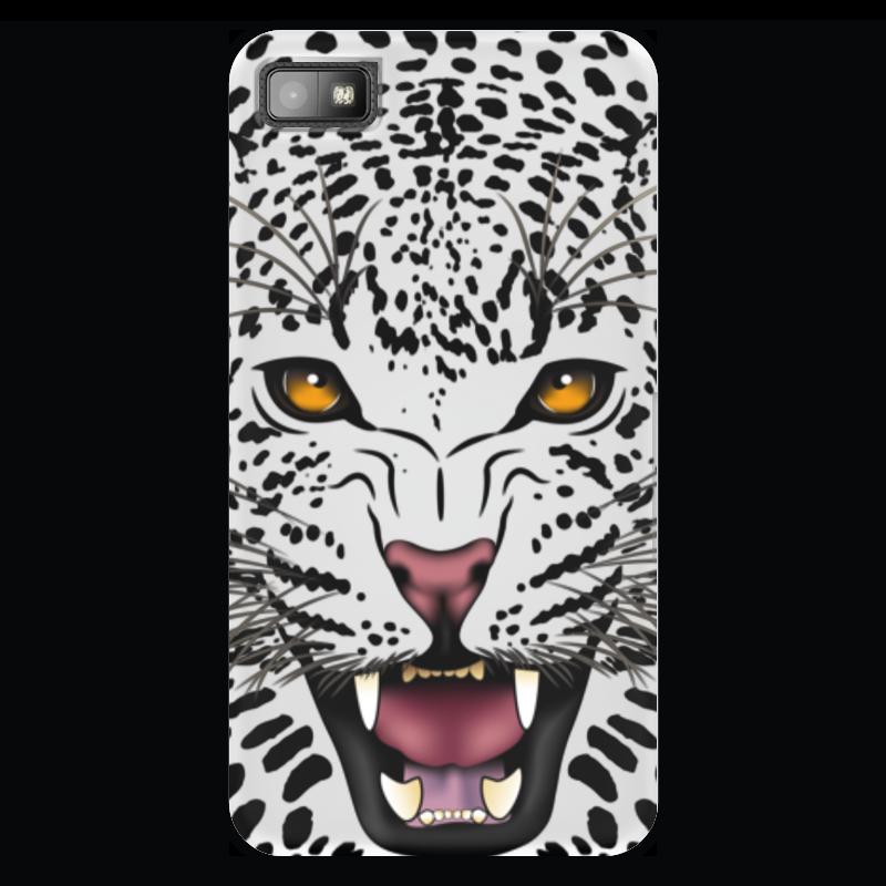 Чехол для Blackberry Z10 Printio Леопард сумка printio леопард