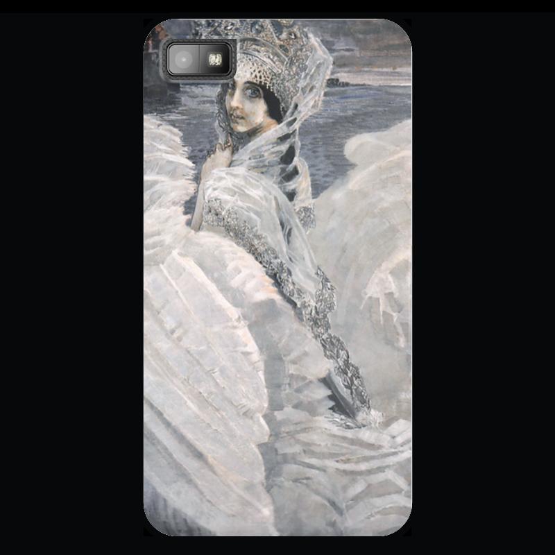 Чехол для Blackberry Z10 Printio Царевна-лебедь (картина врубеля) beatrici lux кулон лебедь