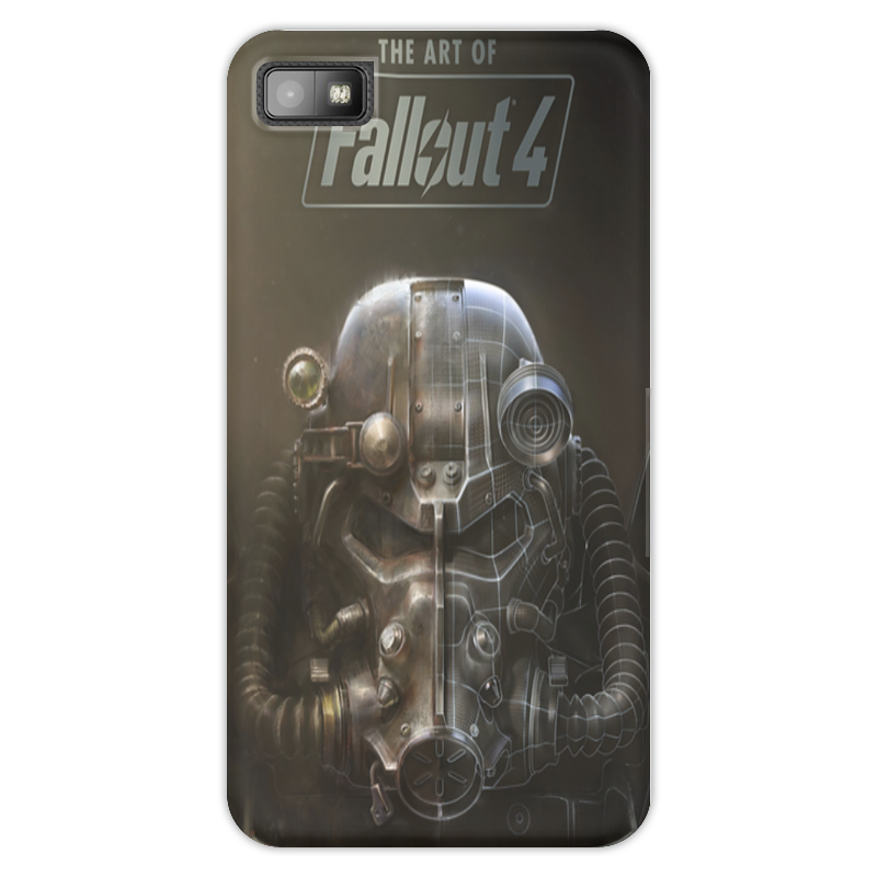Чехол для Blackberry Z10 Printio The art of fallout 4 kickass kuties the art of lisa petrucci