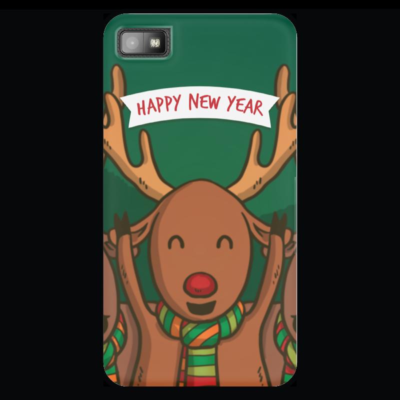 Чехол для Blackberry Z10 Printio Новый год! 2016! конева л празднуем старый новый год