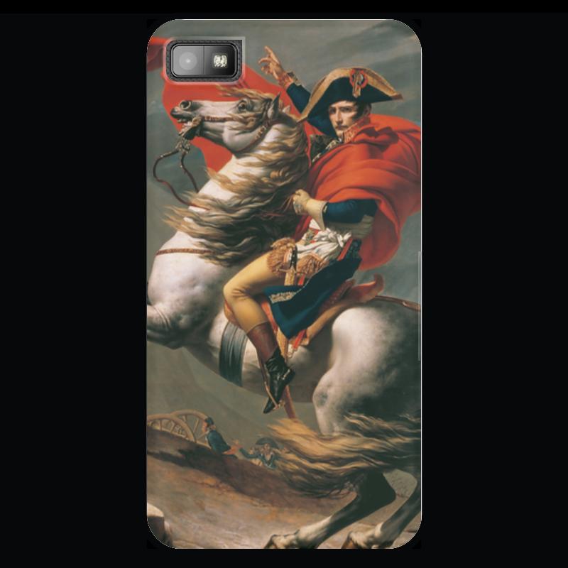Чехол для Blackberry Z10 Printio Наполеон на перевале сен-бернар (жак-луи давид)