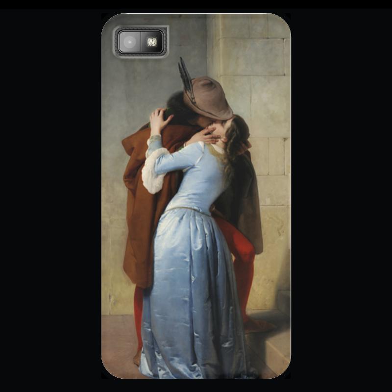 Чехол для Blackberry Z10 Printio Поцелуй (франческо айец) где в коломне сумку женскую франческо маркони