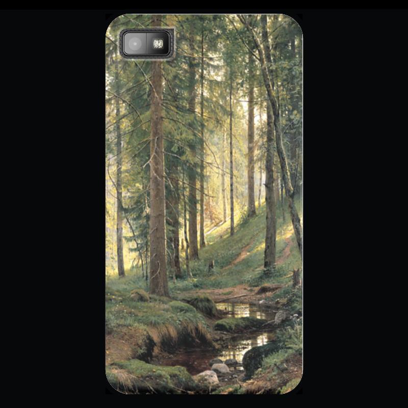 Чехол для Blackberry Z10 Printio Ручей в лесу случай на мосту через совиный ручей