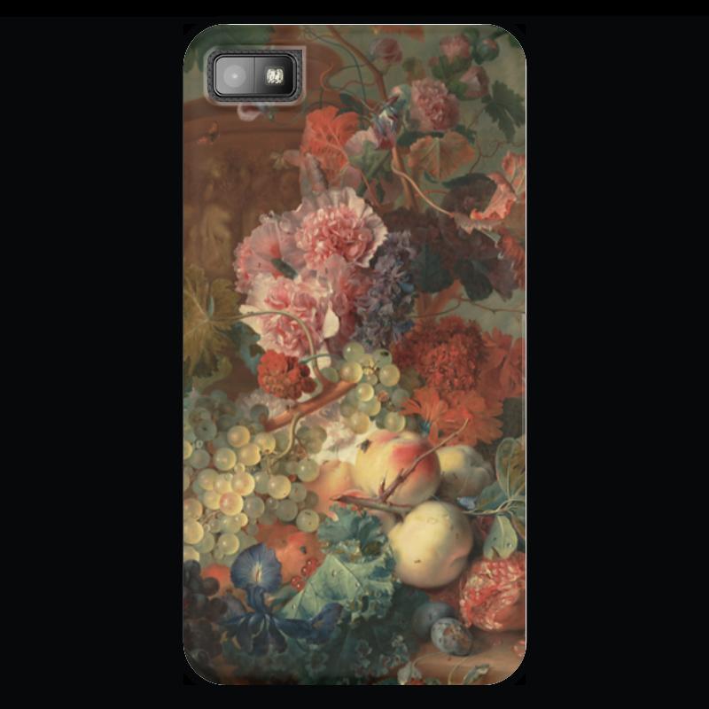 Чехол для Blackberry Z10 Printio Цветы (ян ван хёйсум) чехол для samsung galaxy s5 printio цветы ян ван хёйсум