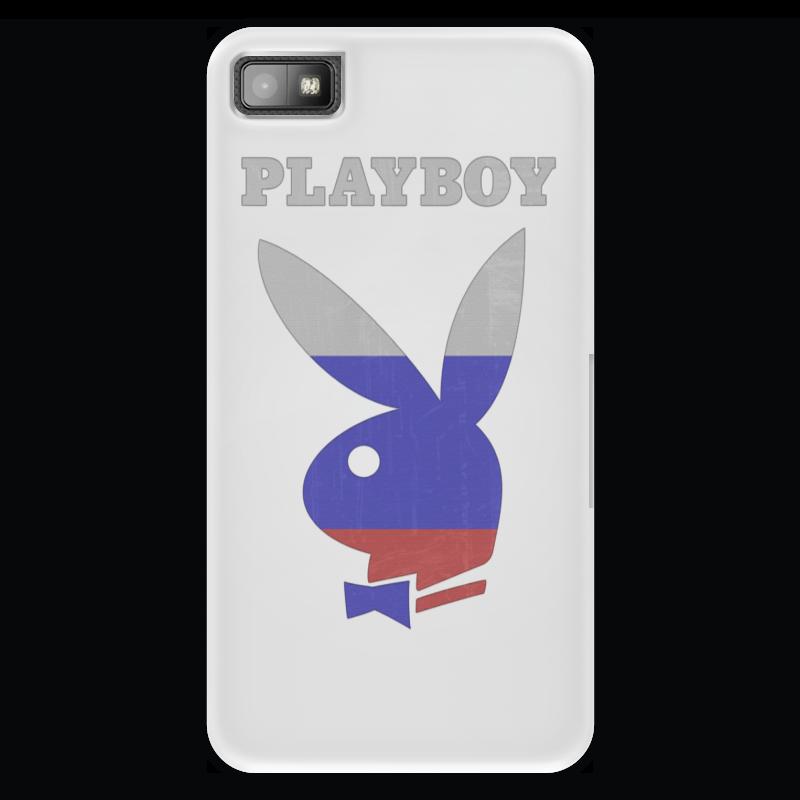 Чехол для Blackberry Z10 Printio Playboy россия стоимость