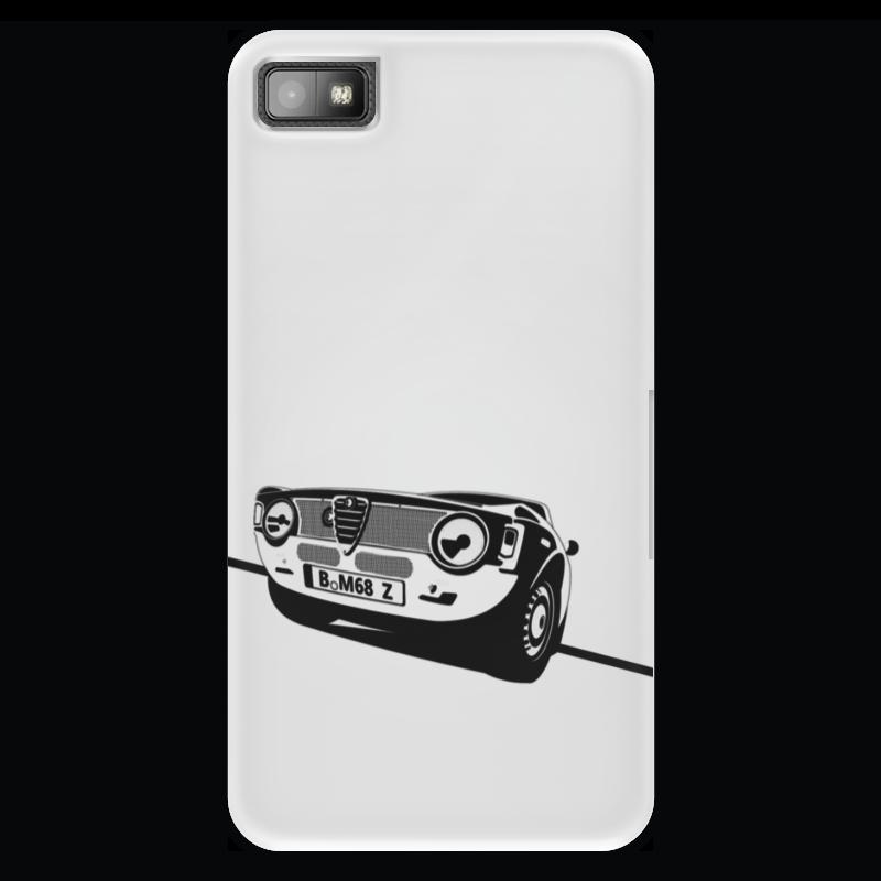Чехол для Blackberry Z10 Printio Retro alfa romeo racing наклейки tony 2 74 alfa romeo mito 147 156 159 166 giulietta gt