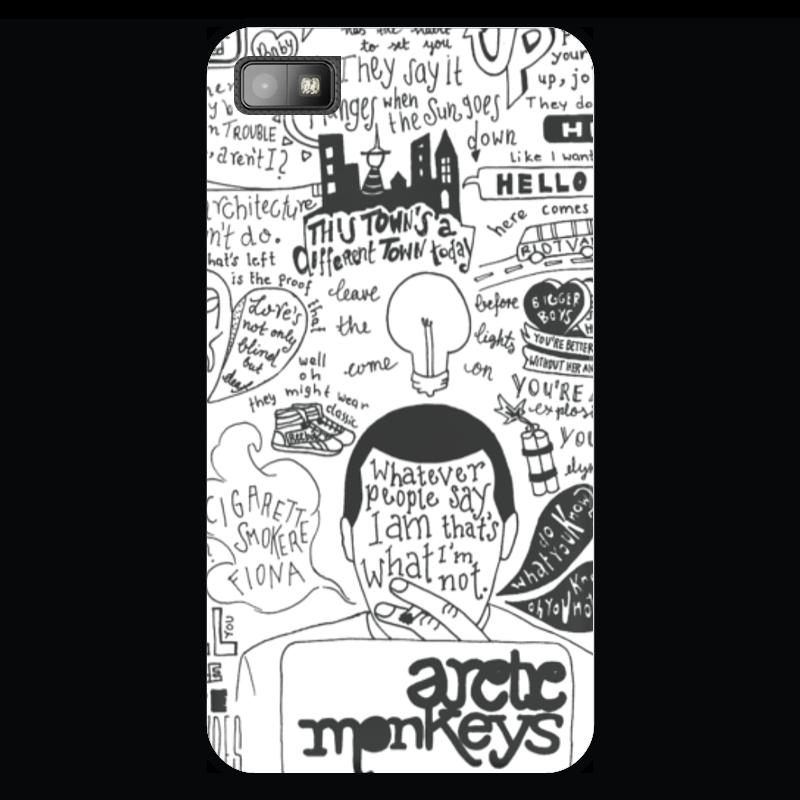 Чехол для Blackberry Z10 Printio Arctic monkeys чехол для blackberry z10 printio сад земных наслаждений