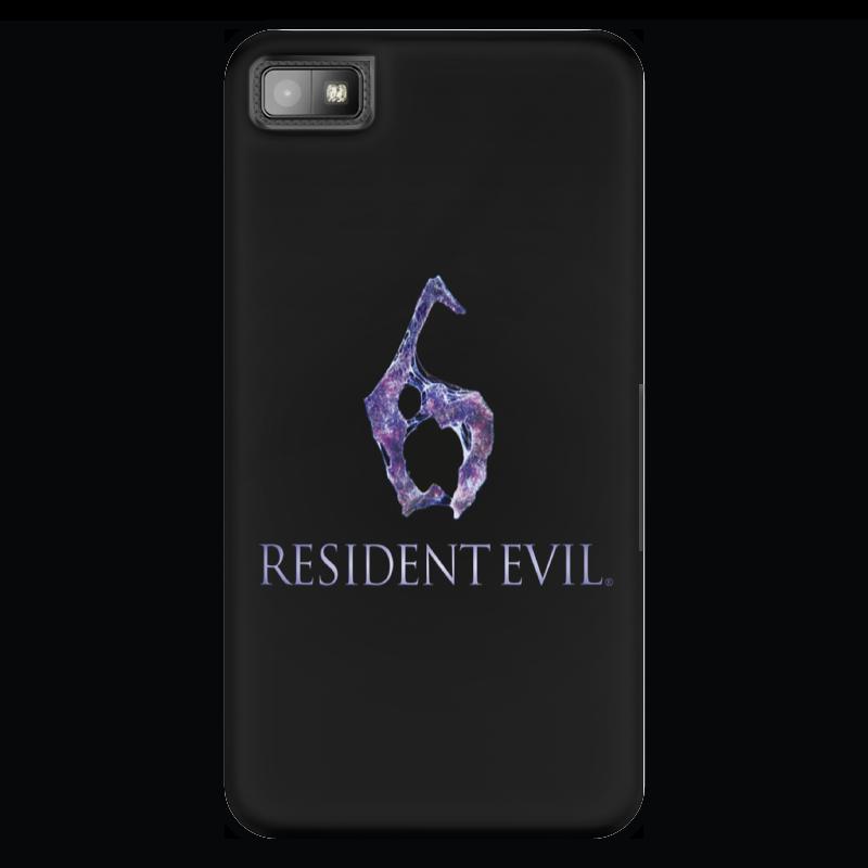 Чехол для Blackberry Z10 Printio Resident evil 6 чехол для iphone 6 глянцевый printio resident evil