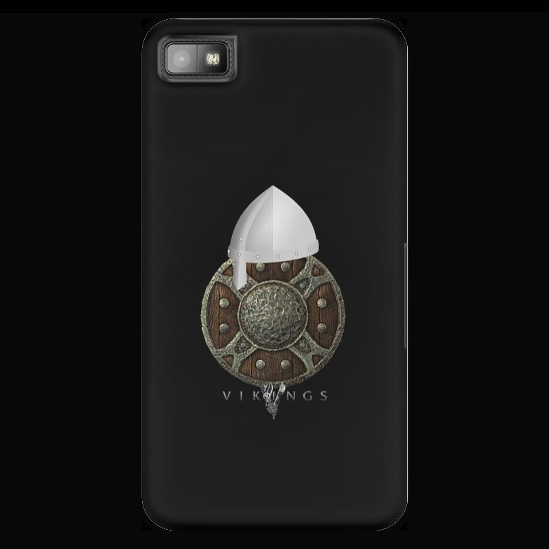 Чехол для Blackberry Z10 Printio Викинги. vikings чехол для blackberry z10 printio отдых после битвы