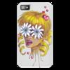 """Чехол для Blackberry Z10 """"Без ума от цветов"""" - любовь, девушка, цветы, сердца, блондинка"""