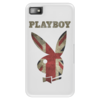"Чехол для Blackberry Z10 ""Playboy Британский флаг"" - playboy, плейбой, плэйбой, великобритания, зайчик"