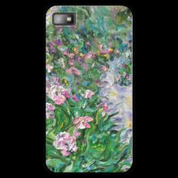 "Чехол для Blackberry Z10 ""Весна"" - радость, flowers, река любви, цветы солнца"