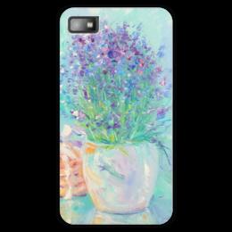 "Чехол для Blackberry Z10 ""Лаванда"" - цветы, живопись, букет, лаванда, lavender"