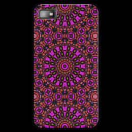 "Чехол для Blackberry Z10 ""purple"" - арт, узор, фиолетовый, абстракция, фигуры"
