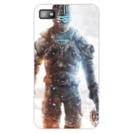 "Чехол для Blackberry Z10 ""Dead Space 3"" - dead space 3, игра dead space 3"