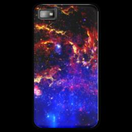 """Чехол для Blackberry Z10 """"Великий Космос"""" - космос, наука, прогресс, денис гесс, the spaceway"""