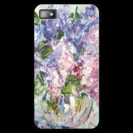 "Чехол для Blackberry Z10 ""Цветы"" - цветы, 8 марта, букет, подарок на 8 марта"