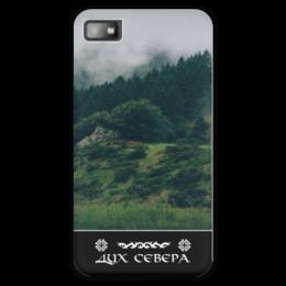 """Чехол для Blackberry Z10 """"Дух Севера"""" - лес, природа, север, дух севера"""