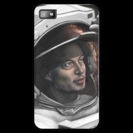 "Чехол для Blackberry Z10 ""SpaceX"" - космос, вселенная, thespaceway, spacex, маск"