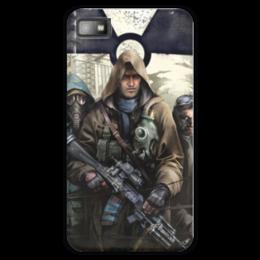 "Чехол для Blackberry Z10 ""S.T.A.L.K.E.R. Чистое небо"" - игра, сталкер, stalker, чистое небо"