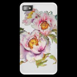 """Чехол для Blackberry Z10 """"Цветочное настроение."""" - арт, лето, цветы, summer, flowers, сад пионов, романтичное, цветочное, peony garden"""