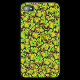 "Чехол для Blackberry Z10 ""Ornithoptera"" - бабочки, природа, текстура, фон"