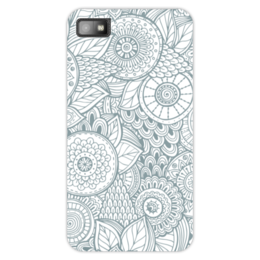 """Чехол для Blackberry Z10 """"Джунгли"""" - цветы, растения, джунгли"""