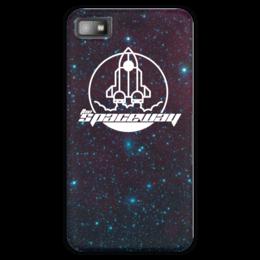"""Чехол для Blackberry Z10 """"My Space"""" - космос, технологии, наука, денис гесс, the spaceway"""
