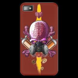 "Чехол для Blackberry Z10 ""Граффити Арт"" - skull, череп, граффити, краска, graffiti"