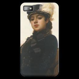 """Чехол для Blackberry Z10 """"Неизвестная (картина Крамского)"""" - картина, крамской"""