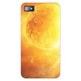 "Чехол для Blackberry Z10 ""The Sun"" - space, космос, sun, вселенная, thespaceway"