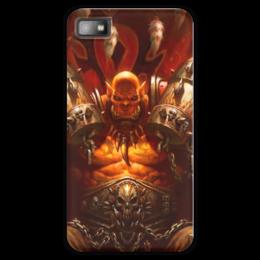 "Чехол для Blackberry Z10 ""WarCraft Collection: ork"" - wow, warcraft, орк, world of warcraft, варкрафт"