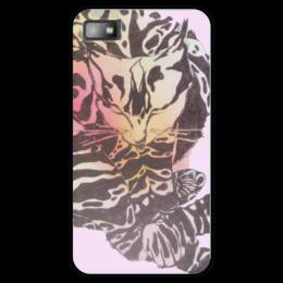 """Чехол для Blackberry Z10 """"Спокойной ночи! Спящая кошка"""" - добрый, кошки, графика, черно-белый, смешной"""
