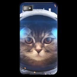 """Чехол для Blackberry Z10 """"Котосмонавт"""" - кот, космос, животное, костюм"""