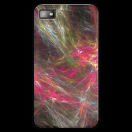 """Чехол для Blackberry Z10 """"Абстрактный дизайн"""" - графика, абстракция, линии, авангард, лучи"""