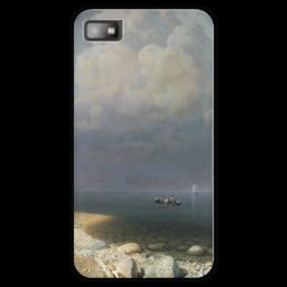 """Чехол для Blackberry Z10 """"Ладожское озеро (картина Архипа Куинджи)"""" - картина, архип куинджи"""