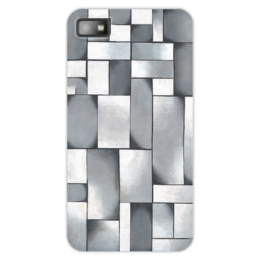 "Чехол для Blackberry Z10 ""Композиция в сером"" - картина, дусбург"