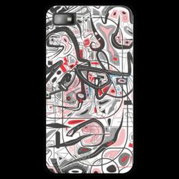 "Чехол для Blackberry Z10 ""Mamewax"" - арт, узор, абстракция, фигуры, медитация"